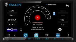 KENWOOD Compatibility with ESCORT Radar Detectors