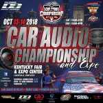 Don't Miss The Car Audio Championship 2018
