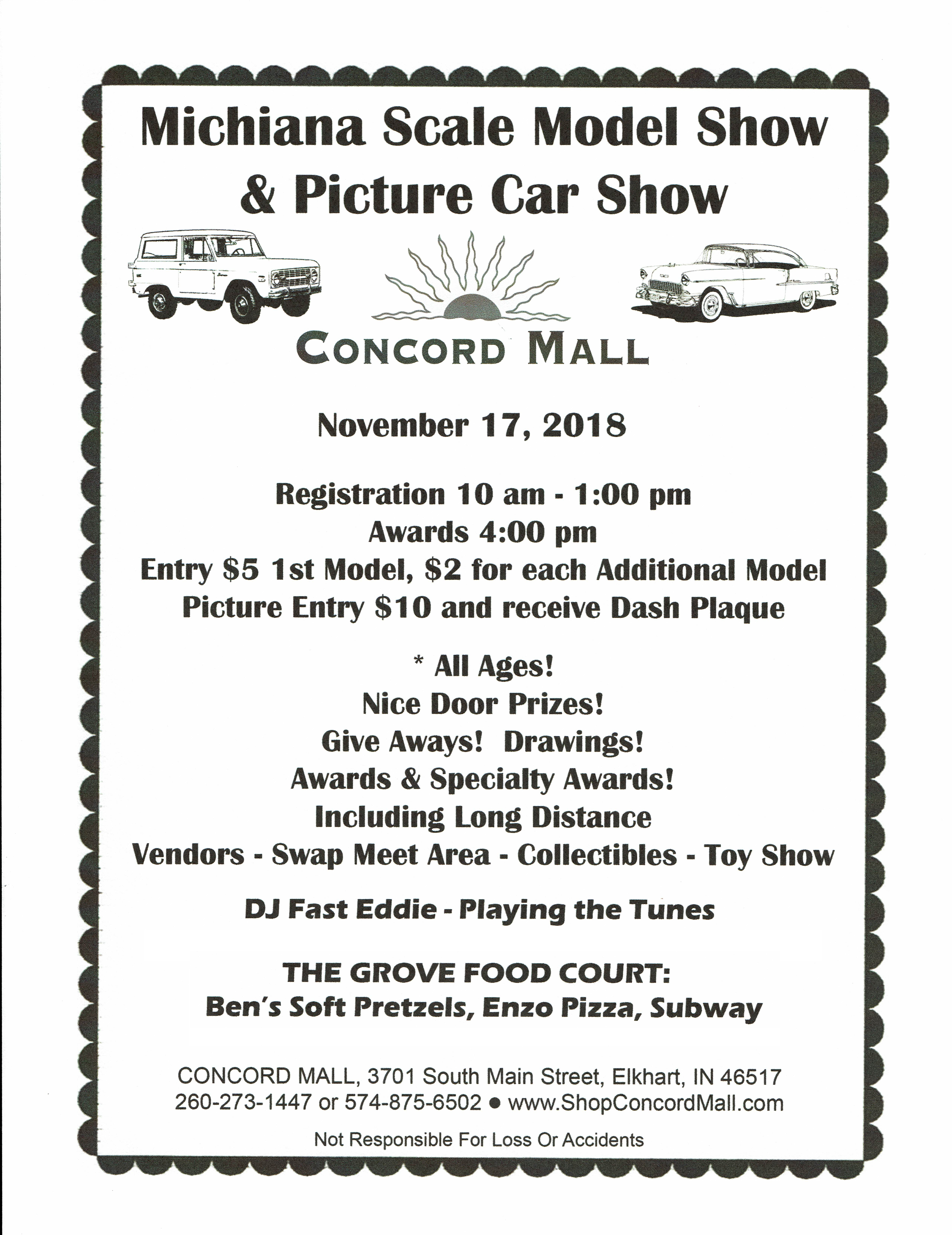 Michiana Scale Model Show and Picture Car Show