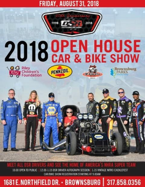 Don Schumacher Racing Open House Car Show 2018