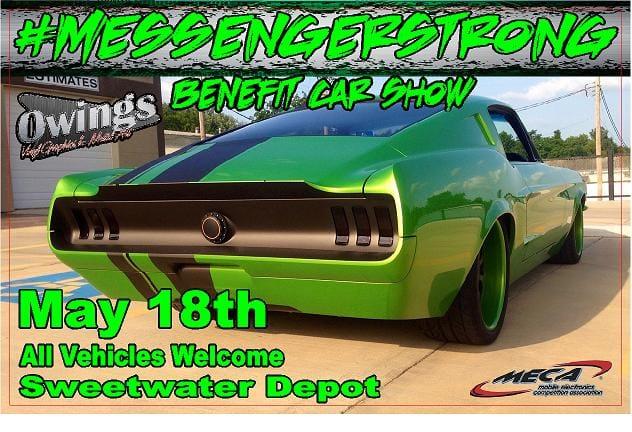 #MessengerStrong Benefit Car Show