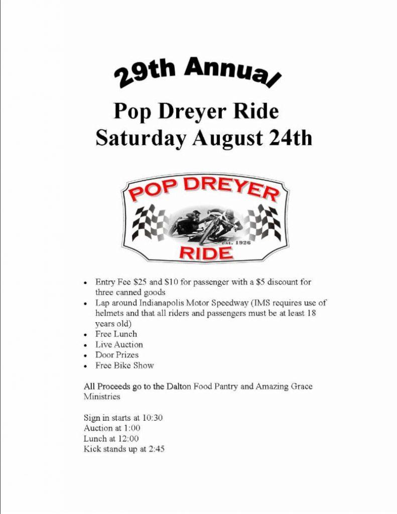 29th Annual Pop Dreyer Ride