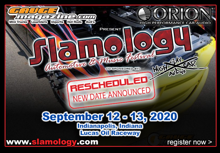 Slamology New Dates for 2020