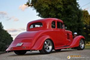 1933 Chevy Master 5 Window Coupe - Gauge Magazine