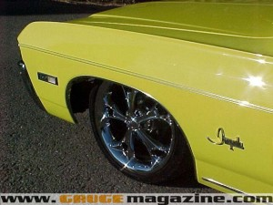 1968 Chevy Impala Convertible On Air Suspension Gauge