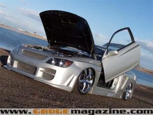 1994 Acura Integra Custom Gauge Magazine