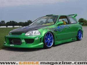 1997 Honda Civic Custom Gauge Magazine