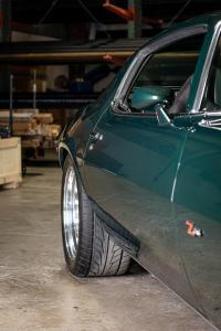Green 1971 Chevy Camaro Z28 (18)