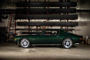 Green 1971 Chevy Camaro Z28 (22)