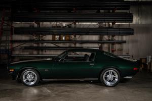 Green 1971 Chevy Camaro Z28 (24)