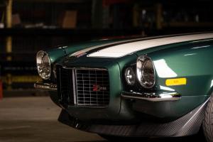 Green 1971 Chevy Camaro Z28 (29)